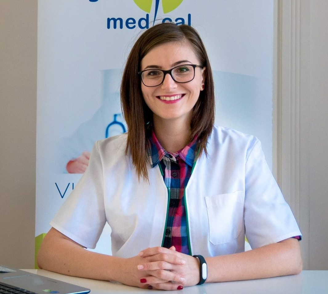 Diana Crișan, Nutriționist-Dietetician